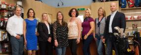 Geschäftsführung und Sekretariats-Team des GC Frühling